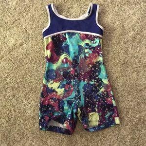 Capezio future star leotard/dance outfit. Girls M